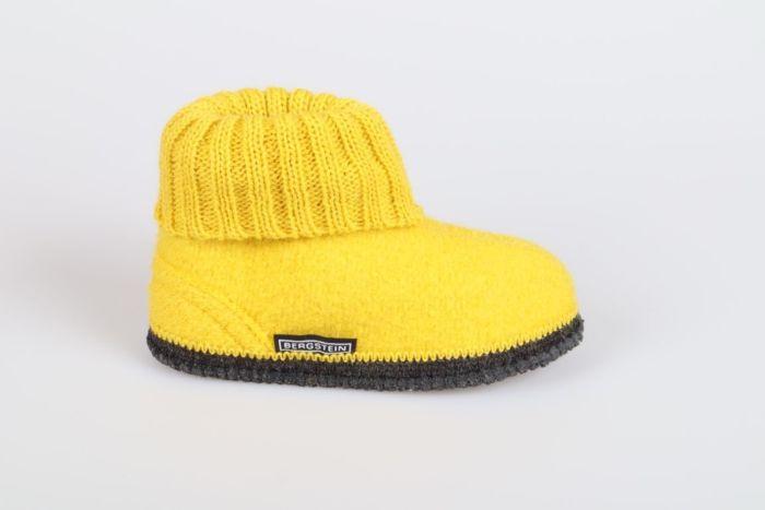 Bergstein Cozy 29 slof yellow