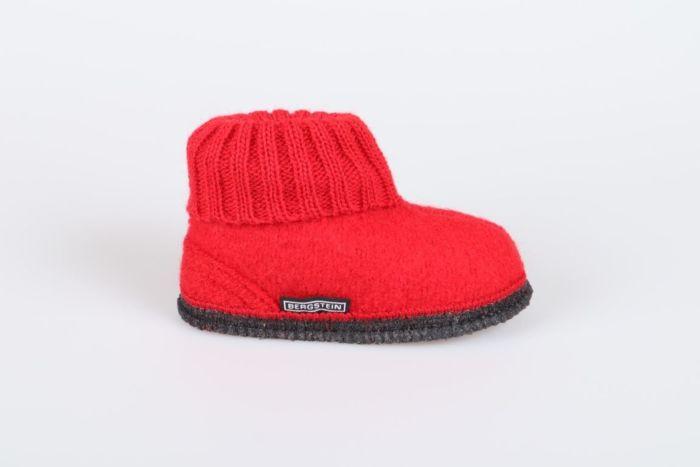 Bergstein Cozy 08  slof red