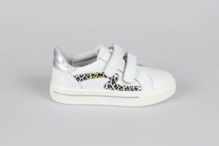 Develab 42594-122 klittenband schoen white nappa