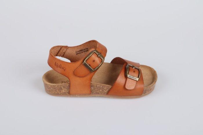Kipling Easy 4 12165500-0716 sandaal cognac