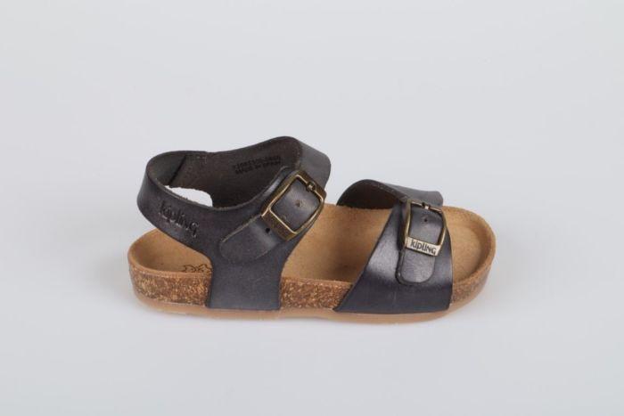 Kipling Easy 4 12165500-0850 sandaal dark grey
