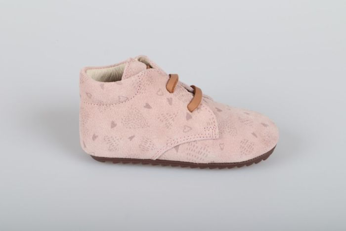 Shoesme BP20S027-E veterschoen rosa print