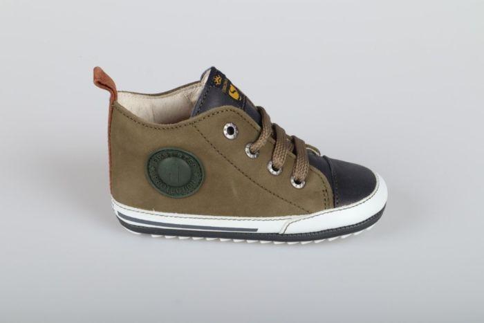 Shoesme BP20S004-J veterschoen green