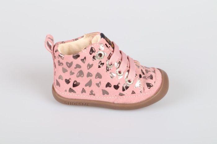 Shoesme BF20W005-B veterschoen roze
