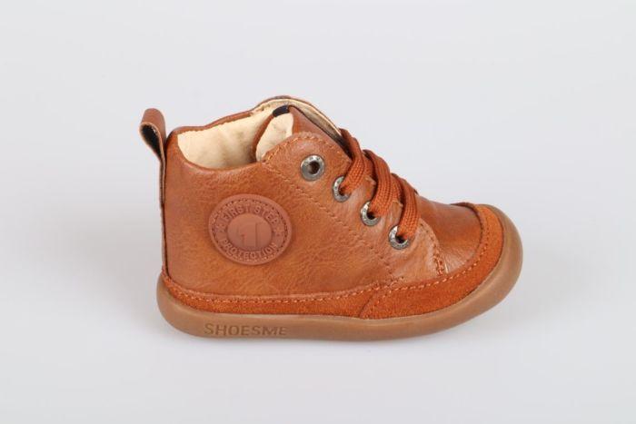 Shoesme BF8W001-C veterschoen cognac