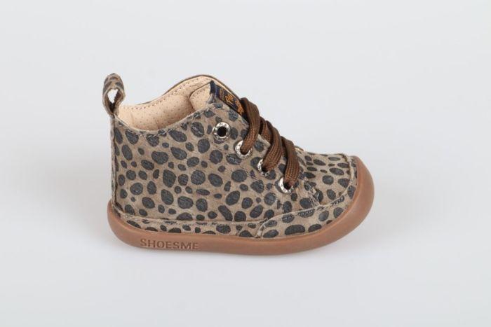 Shoesme BF9W001-B veterschoen khaki