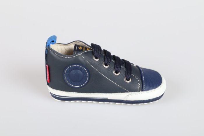 Shoesme BP8S004-I veterschoen blauw