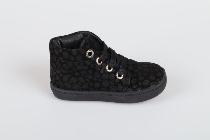 Shoesme FL20W001-G veterschoen zwart