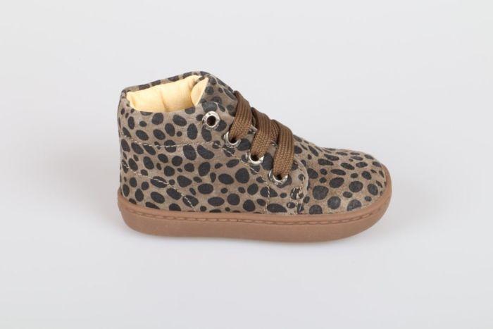 Shoesme FL20W001-H veterschoen khaki