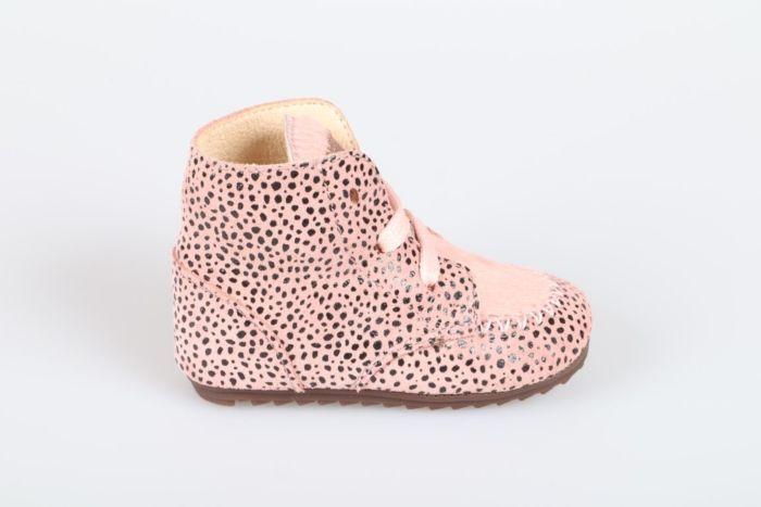 Shoesme BP21W023-C veterschoen pink dots