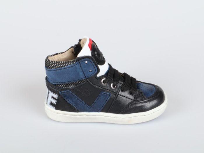 Shoesme UR21W047-C veterschoen zwart