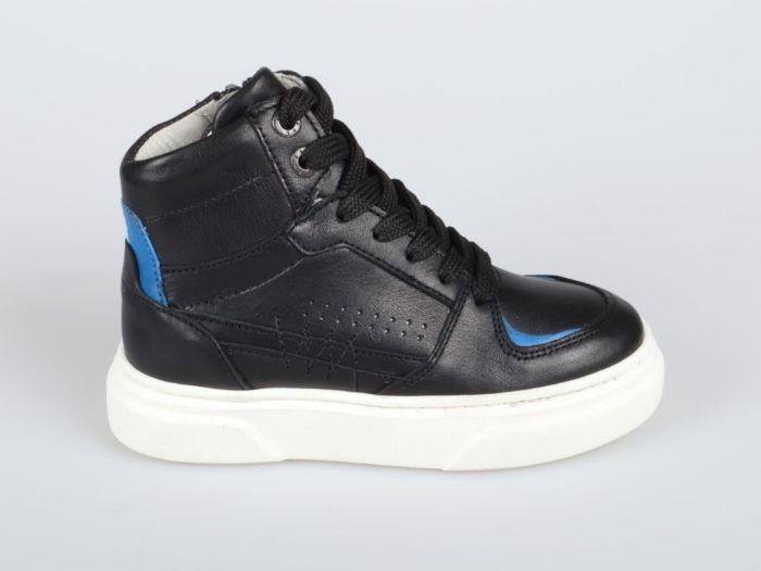 Red Rag 13537-922 hoge sneaker zwart