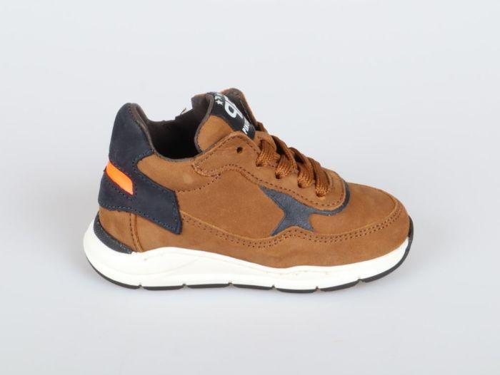 Pinocchio P1400-214-36CO-DC sneaker cognac