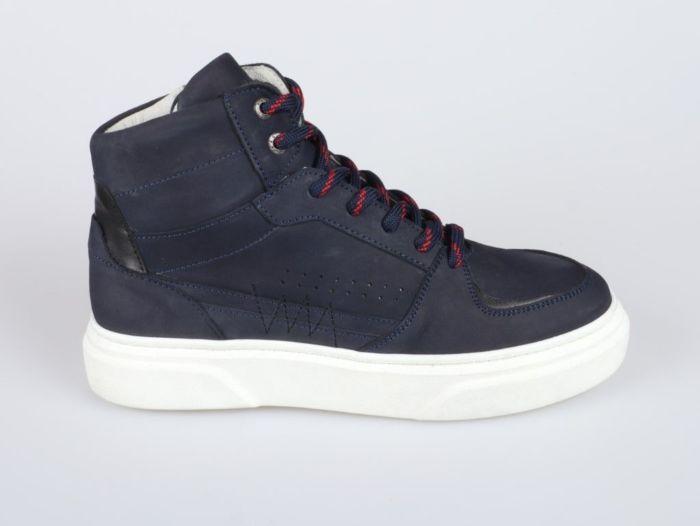 Red Rag 13537-634 hoge sneaker blauw