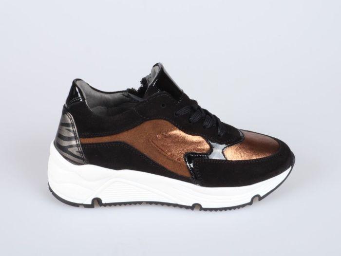 Hip H1473-214-10CO-DC sneaker zwart combi