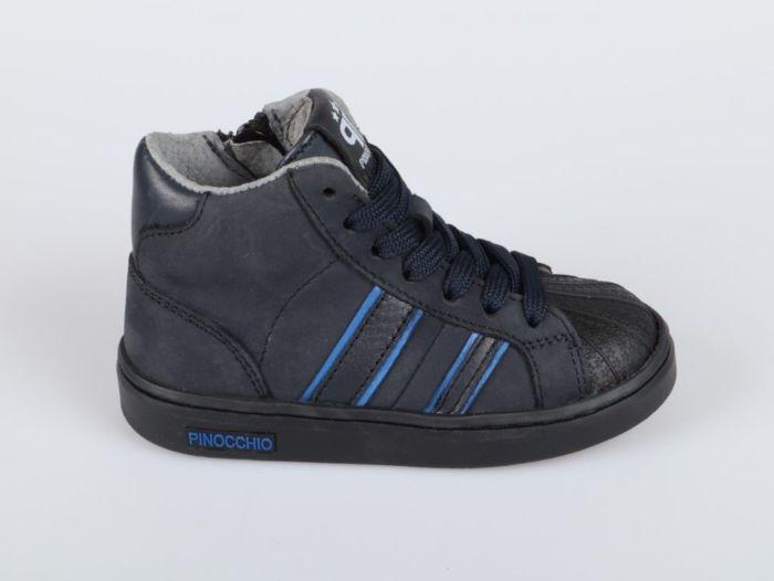 Pinocchio P1402-214-46CO-AC sneaker blauw