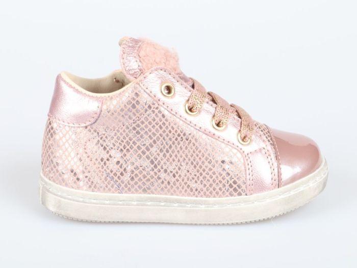 Beberlis 22057-ro veterschoen pink