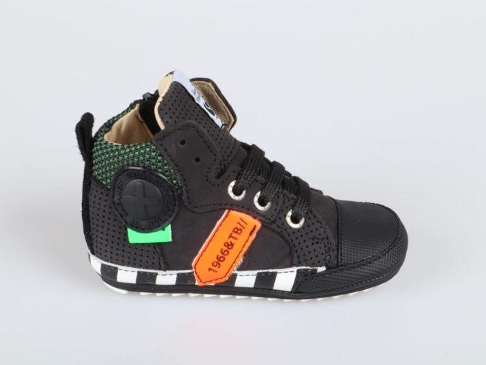 Shoesme BP21W109-A babyproof black orange