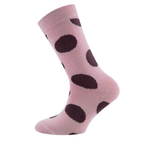 Ewers 201345-1404 sok roze/ bordeaux dots