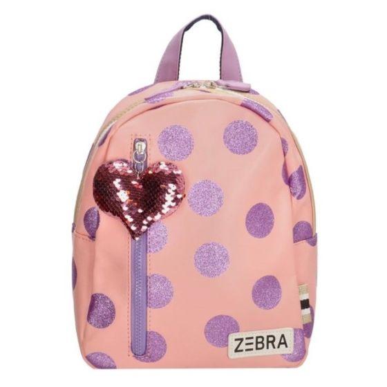 Zebra 588003 rugzak roze, lila dots-One Size