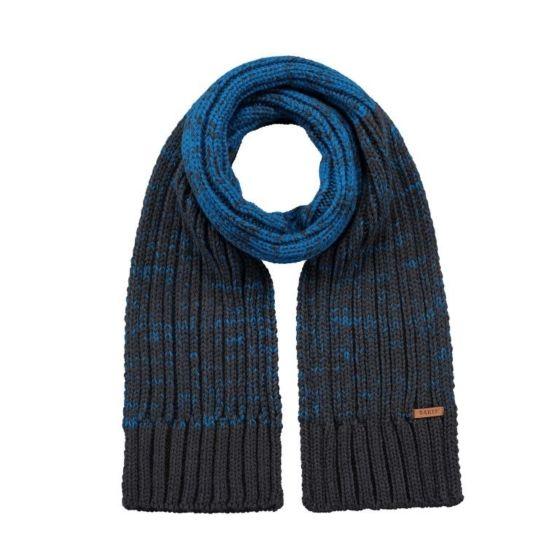 Barts 6110021 Brighton scarf charcoal-One Size