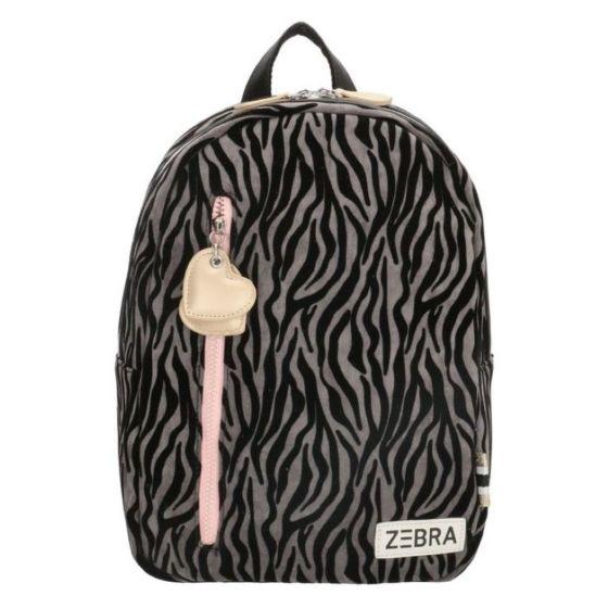 Zebra 826602 rugzak zebraprint grijs-One Size